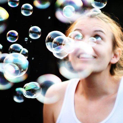 burbujas de felicidad